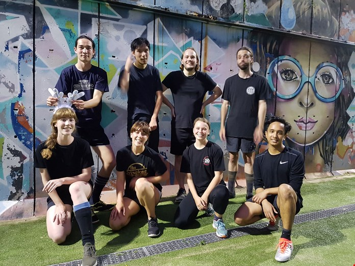 Different styles of Soccer at Urban Rec