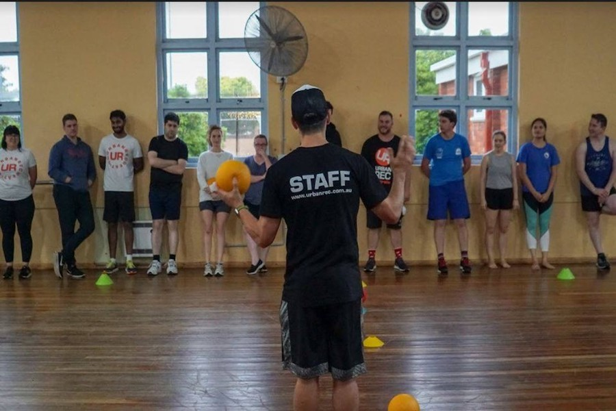 Learn and Play Dodgeball